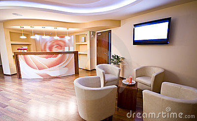 Spa Waiting Room Royalty Free Stock Photo Image 6874455