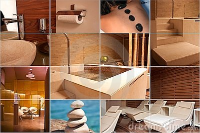 Spa and Wellness collage