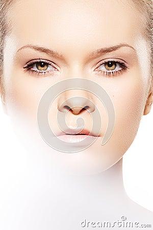 Spa, wellness, skin care. Close-up, beauty make-up