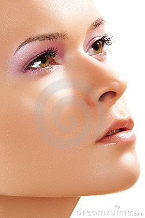 Free Spa, Wellness, Skin Care. Close-up Of Beauty Face Stock Images - 18701764