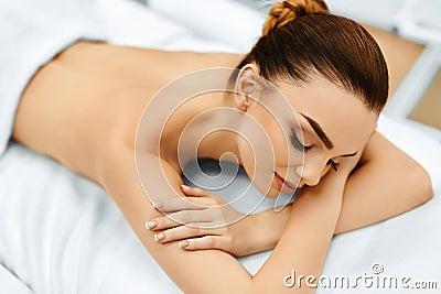 Spa woman beauty treatment in medical spa salon body for A trial beauty treatment salon