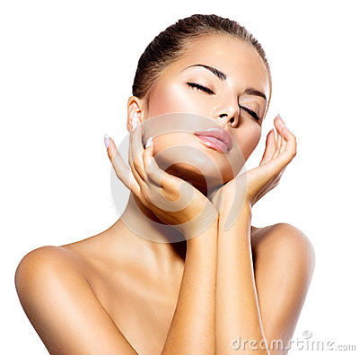 Free Spa Woman Portrait Royalty Free Stock Image - 35652996