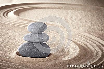 Spa zen meditation stones background