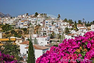 Spaans landschap, Nerja, Costa del Sol