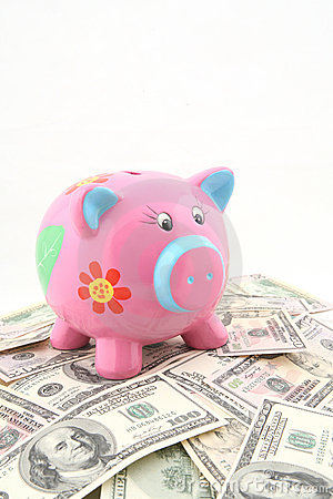 Spaarvarken meer dan stapel van geld
