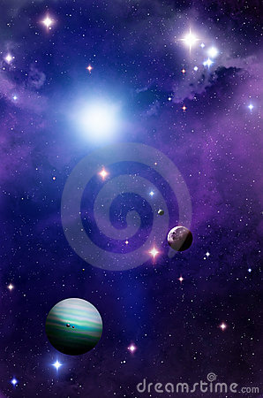 Free Space And Planets Stock Photos - 22003903