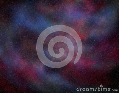 Space background.