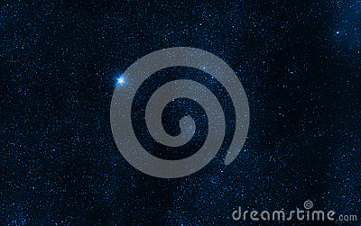 Space background stars