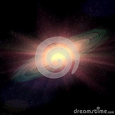 Space galaxy explosion supernova