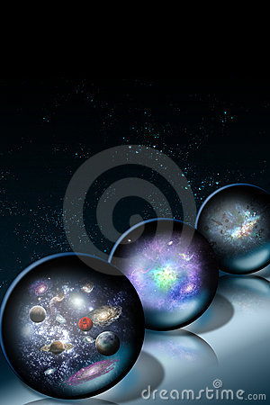 Space Glass Balls