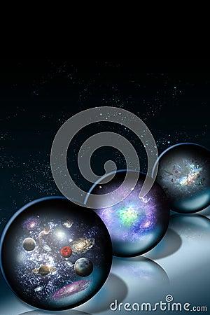 Space Glass Balls