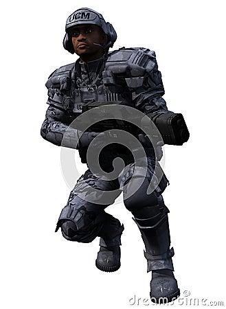 Space Marine Ranger 02