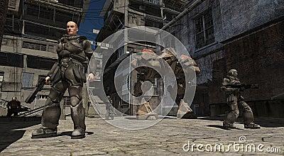 Space Marine Urban Combat Patrol