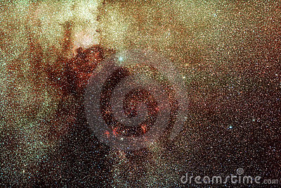 Space Milky Way Stars