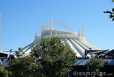 Space Mountain Editorial Stock Image