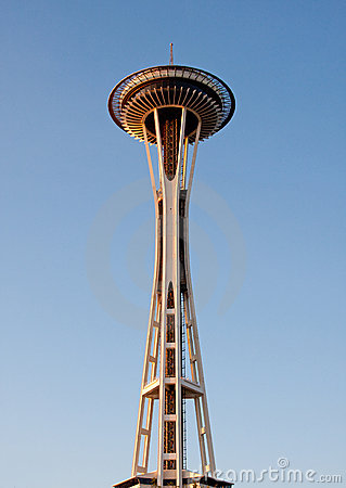 Space needle Editorial Stock Photo