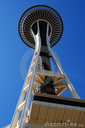 Space Needle Editorial Stock Image