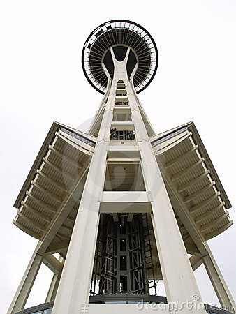 The Space Needle of Seattle Editorial Image