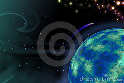 Space.Planet Stock Image - Image: 14282171