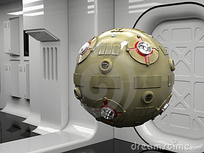 Space probe droid