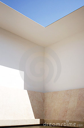 Space That Sees, Israel Museum Editorial Stock Photo