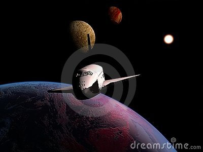 The space ship