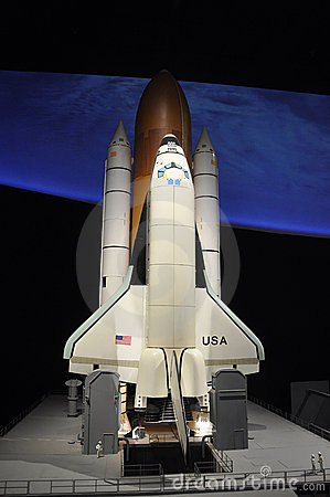 Space Shuttle Editorial Photo