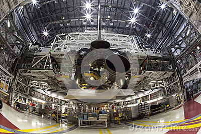 Space shuttle Editorial Stock Image