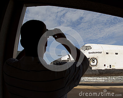Space shuttle Editorial Stock Photo
