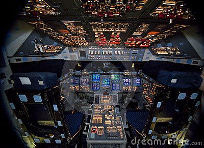 Space shuttle Atlantis Editorial Stock Photo