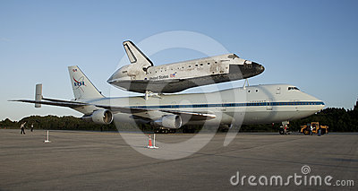 Space shuttle Discovery Editorial Photo