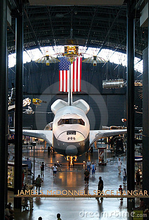 Space Shuttle Enterprise Editorial Image