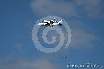 Space Shuttle Enterprise Editorial Stock Photo