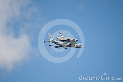 Space Shuttle Enterprise Editorial Stock Photo
