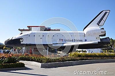 Space Shuttle Explorer, Florida, USA Editorial Photo