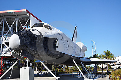 Space Shuttle Explorer, Florida, USA Editorial Stock Image
