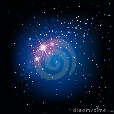 Space and Star Background