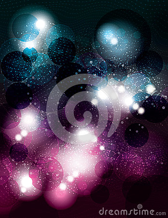 Free Space Themed Abstract Vector Background Design Stock Photo - 48987960