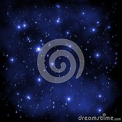 Space Universe stars