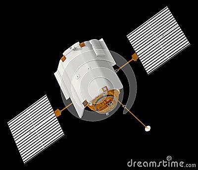 Spacecraft Messenger Stock Illustration - Image: 39256549