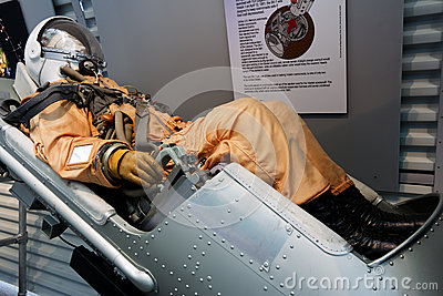 Spaceship ejection seat Editorial Stock Image