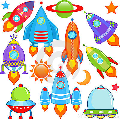 Free Spaceship, Spacecraft, Rocket, UFO Royalty Free Stock Photo - 22227235