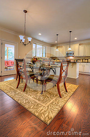Spacious Country Dinning Room