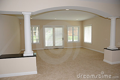 Spacious Empty Room in New House