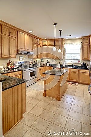 Free Spacious Kitchen Royalty Free Stock Photo - 20503785