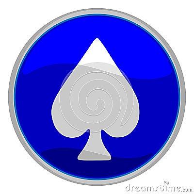 Spades suit icon