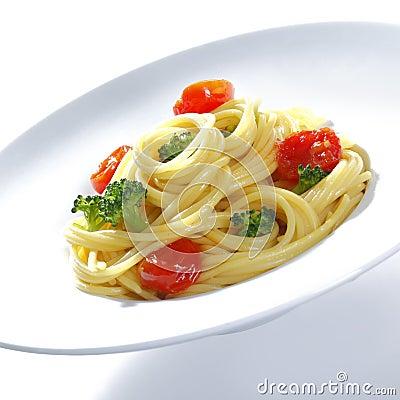Spagetti Broccoli with Parmesan
