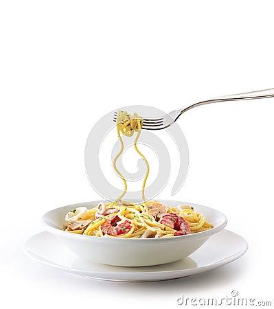 Ollo Aglio Spaghetti