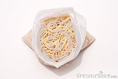 Spaghetti in a bag