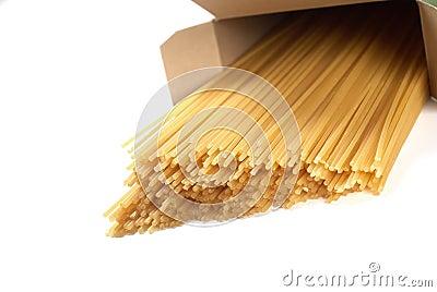 Spaghetti in box